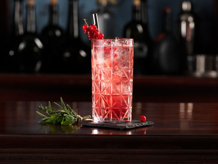 The Ruby Red cocktail