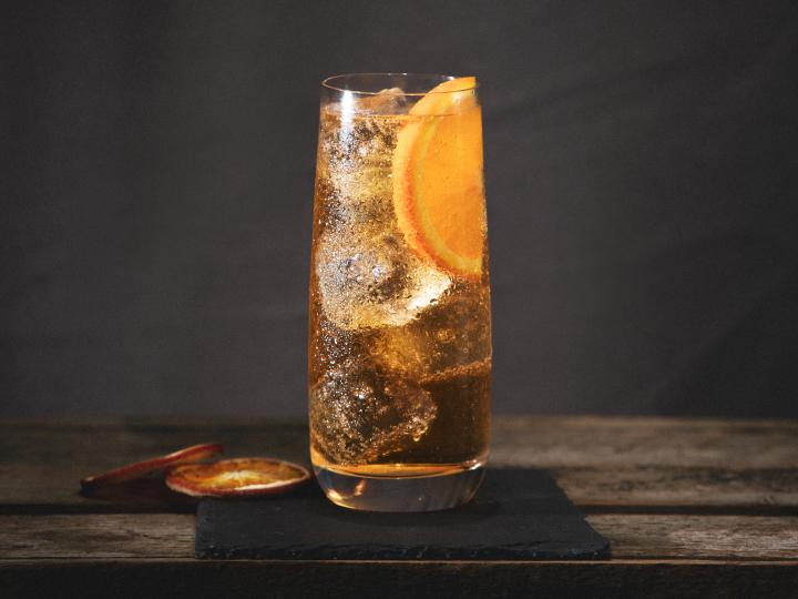 Lambay Spiced ginger cocktail