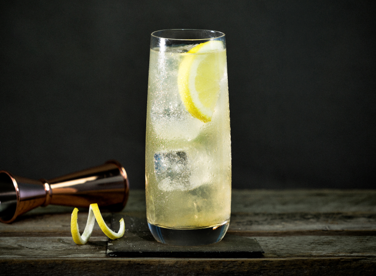 The Lambay and Lemon cocktail
