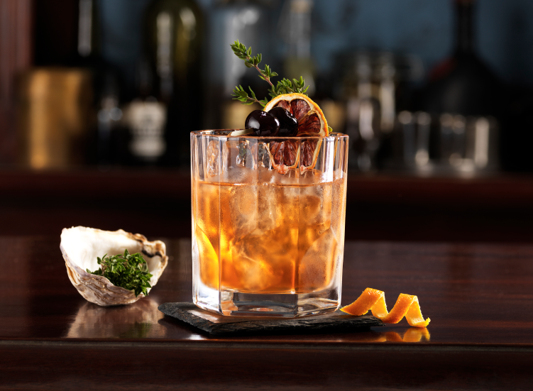 Lambay Old Fashioned cocktail