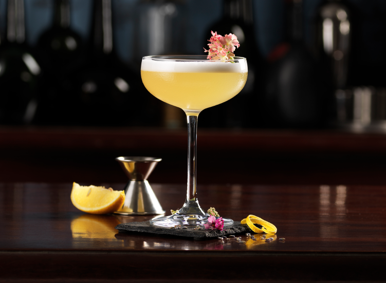Lambay Whiskey Sour Cocktail